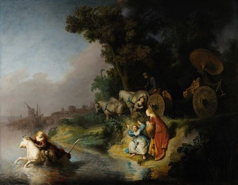 Rembrandt Harmensz. van Rijn - The Abduction of Europa  1632