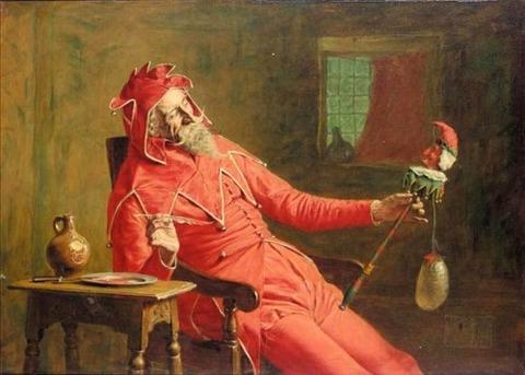 John Watson Nicol - The court jester