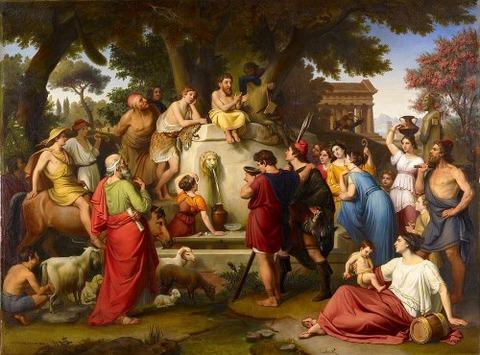 Aesop by Johann Michael Wittmer II