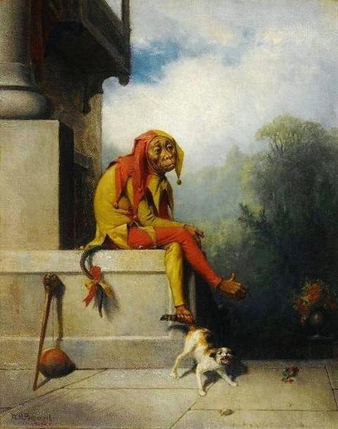 William Holbrook Beard - The Jester