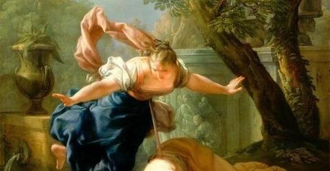 Pietro Bianchi, Pyramus and Thisbe, c. 1724-5 -