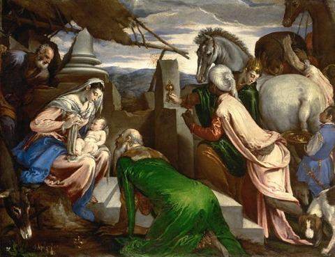 Jacopo Bassano, 1563-1564