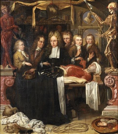 1709 Adriaen van der Groes Dissection of a Malefactor