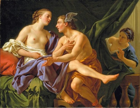Mercury Herse  Aglauros by Louis-Jean-Francois