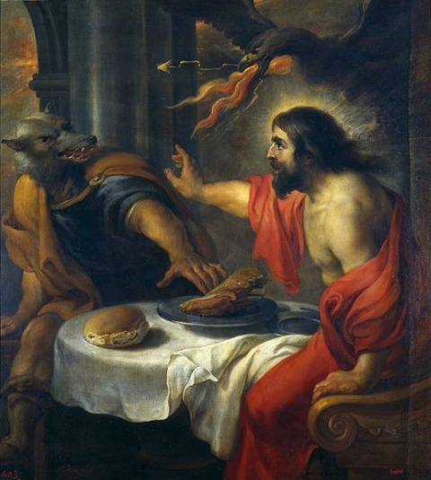 Jan Cossiers - Júpiter y Licaón 1600-71