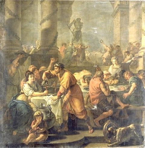 Saturnalia, opera di Antoine-Francois Callet