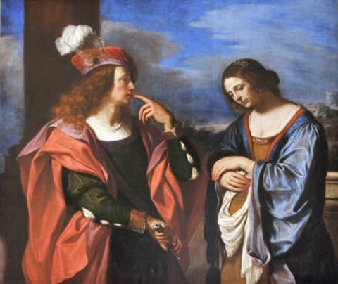 Absalom and Tamar Guercino (1591 –1666)