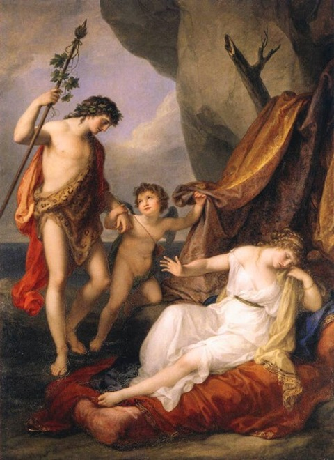 Angelica Kauffman Bacchus and Ariadne 1790