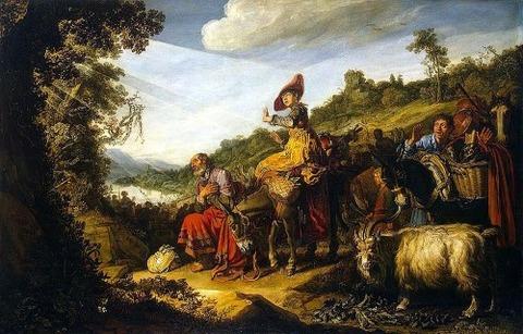 Lastman, Pieter - Abraham's Journey to Canaan - 1614