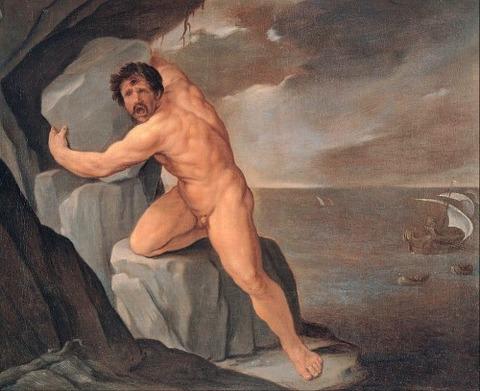 Guido Reni - Polyphemus 1639-40