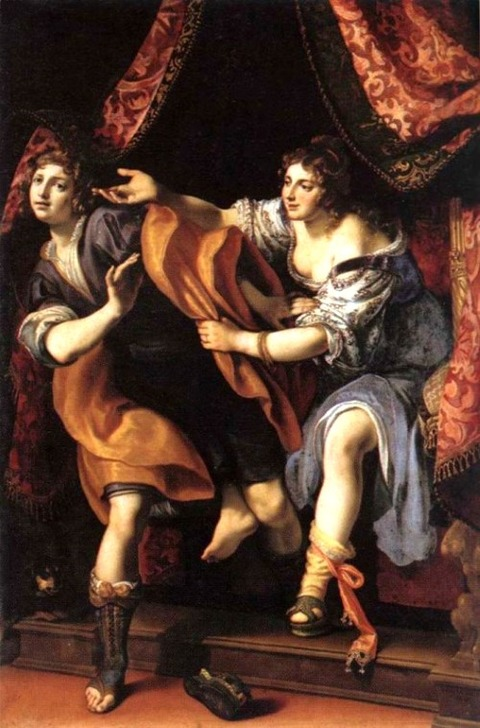 Joseph and Potiphar's Wife  Ludovico Cigoli, 1610