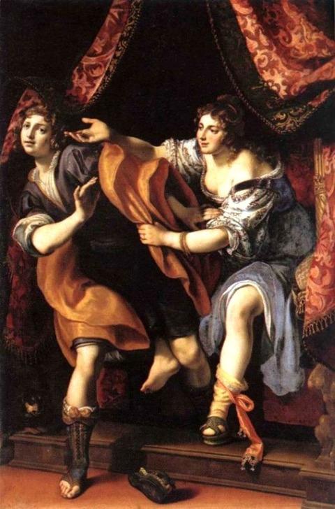 Joseph and Potiphar's Wife  Ludovico Cigoli, 1610