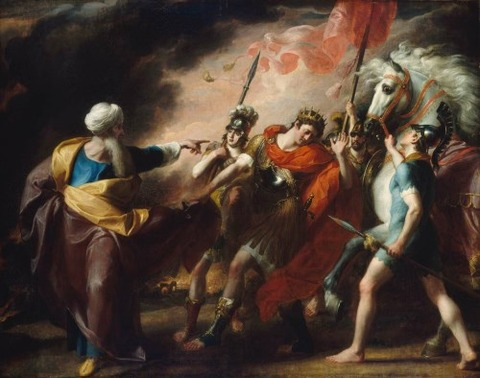 Saul Reproved by Samuel 1798 John Singleton Copley