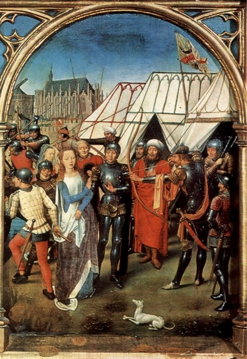 Hans Memling, The Martyrdom of Saint Ursula 1489