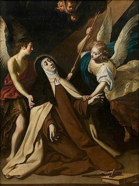 Gerard Seghers - Ecstasy of Saint Teresa 1609-51