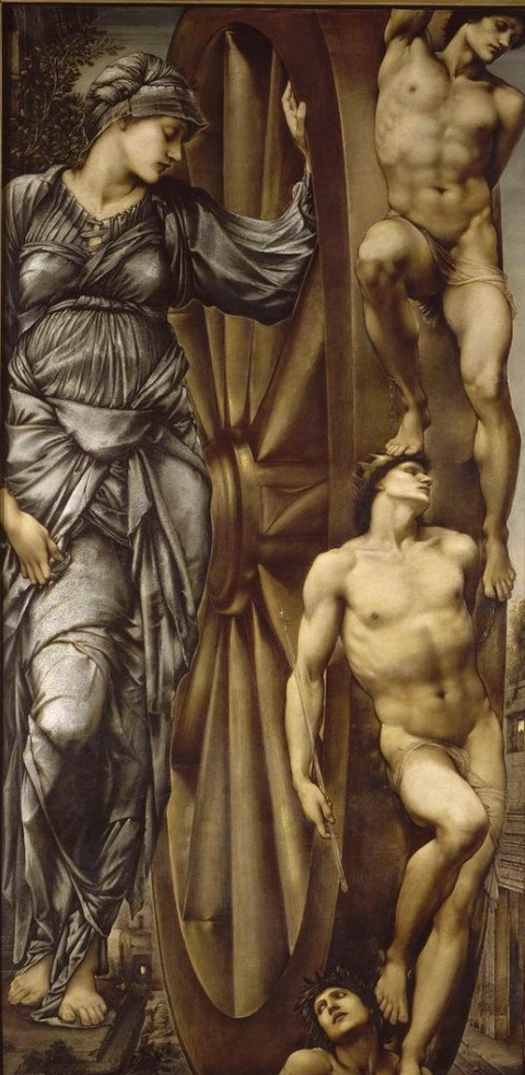 Edward Burne-Jones  The Wheel of Fortune 1883