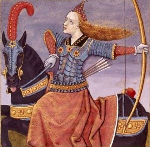La reine Penthésilée Des cleres et nobles femmes 1488