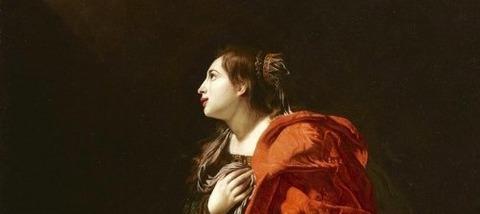 Bartolomeo Cavarozzi Santa Catalina de Alejandría -
