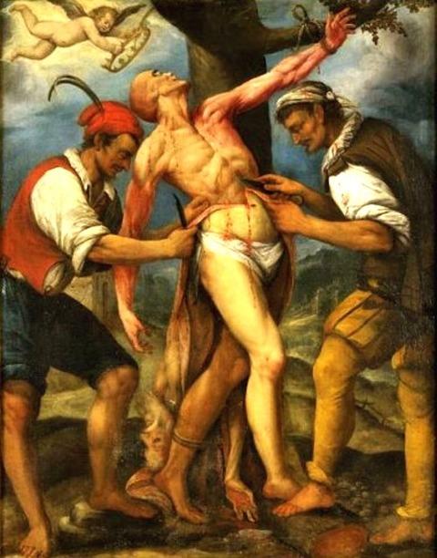 Attributed to Giovanni Battista Paggi 17th
