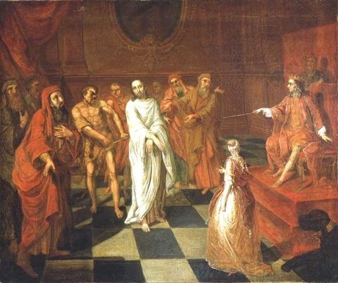 John Valentine Haidt, Christ Before Herod アンティパス, 1762