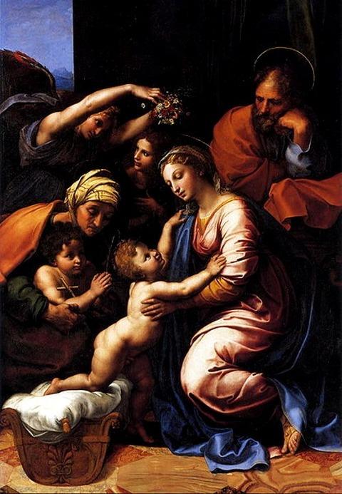 The Holy Family - Rafael 1518