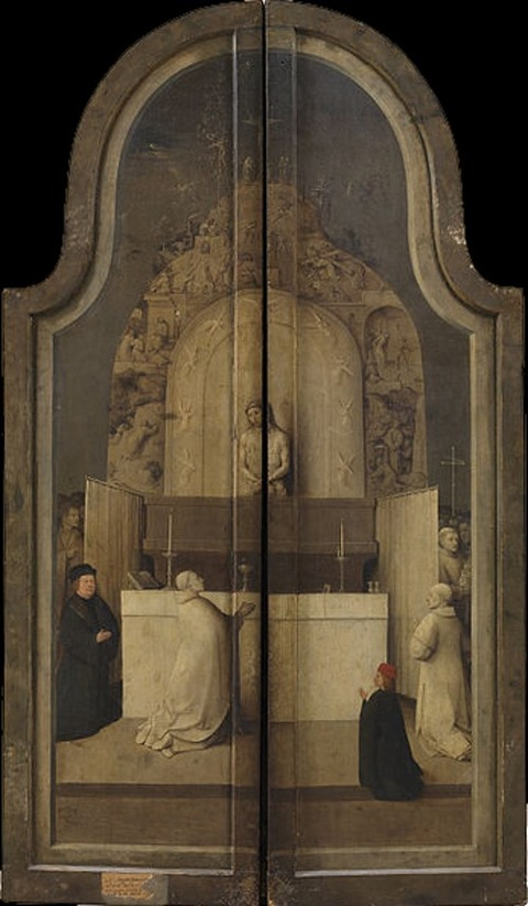Hieronymus Bosch - Adoration of the Magi (closed)