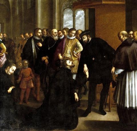 taking leave of King John III (1635) - José Avelar Rebelo