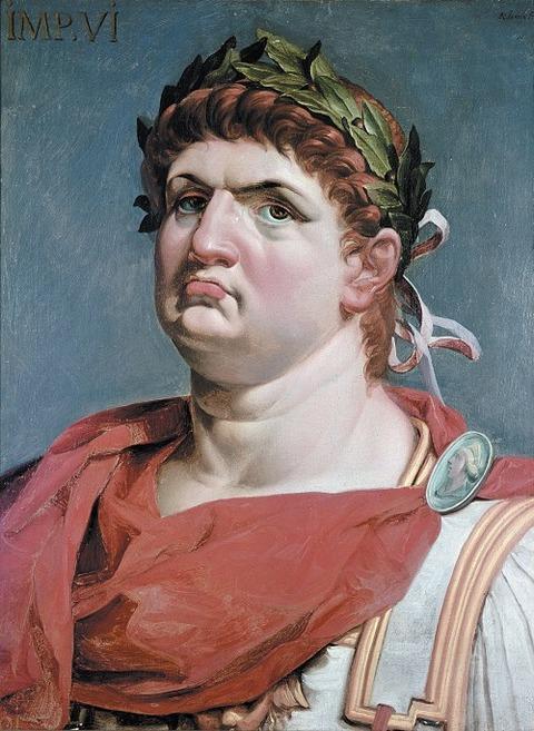 Emperor Nero  by Abraham Janssens 1618