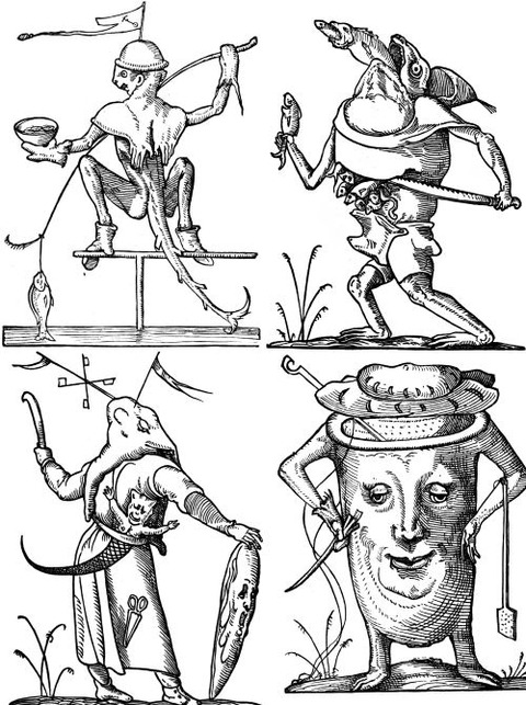 François Desprez - The Droll Dreams of Pantagruel (1565) 5