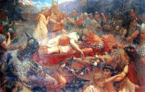 Sigurd_and_Brynhild,_Charles Butler  1909