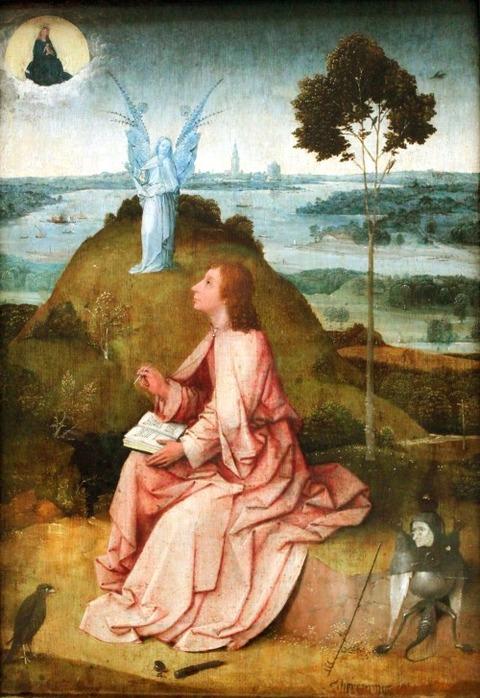 Bosch Der Evangelist Johannes