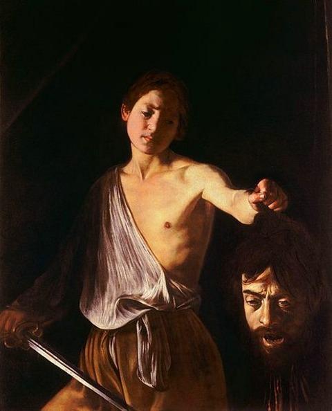 Caravaggio David