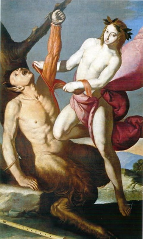 Apollo Flaying Marsias, 1640