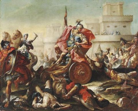 18th Francesco Monti 1685