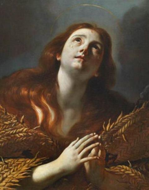 Mattia Preti Magdalena Penitente