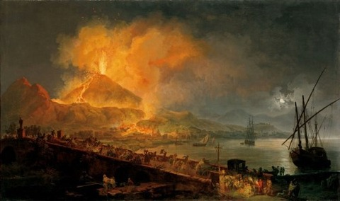 Pierre-Jacques Volaire The Eruption of Mt. Vesuvius 1777