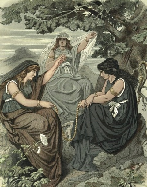 The Norns by Carl Emil Doepler