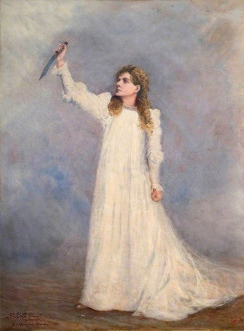 Alma Murray as Beatrice Cenci by Percy Bysshe Shelley-