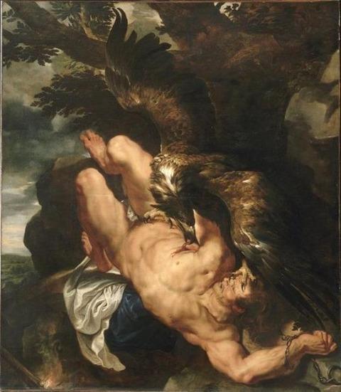 Peter Paul Rubens, Prometheus Bound, 1618