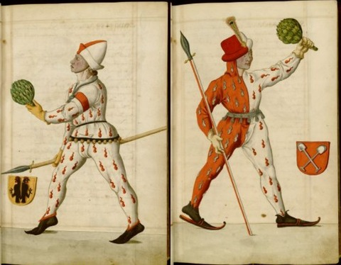 Radical Fashion from the Schembart Carnival (1590)1