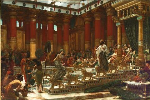 Edward John Poynter Visit Sheba To Solomon
