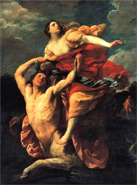 Guido Reni (1575-1642) The Rape of Deianira 1619