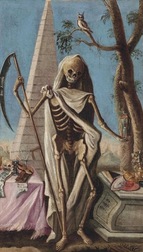 Memento Mori, Italian School, early 18th