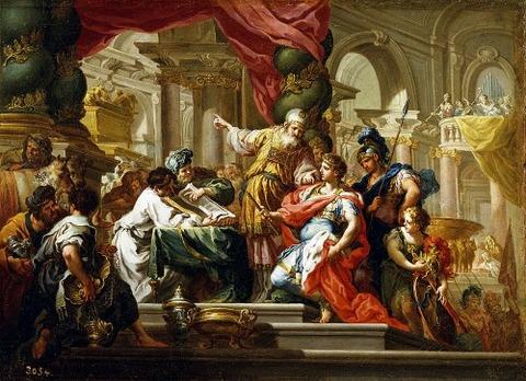 Temple of Jerusalem   Sebastiano Conca 1736