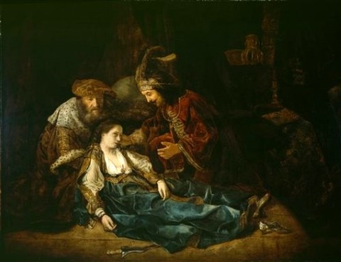 The Death of Lucretia Rembrandt van Rijn