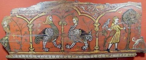 Archaelogical Museum of Lliria 13th 床板