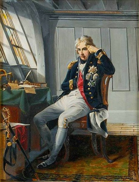 Nelson before Trafalgar George Lucy Good after Charles Lucy 1854