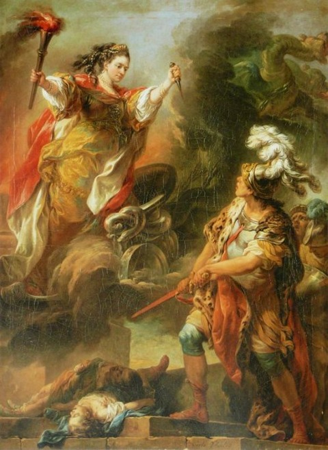 Medea and Jason Charles André van Loo