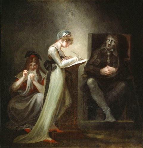 Henry Fuseli  Milton Dictating to his Daughter, 1794