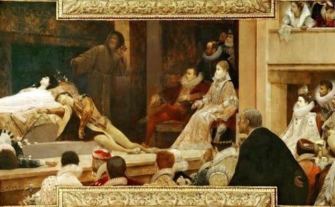 Theatre of Shakespeare (Detail), 1886 - Gustav Klimt